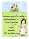 Asian Princess Invitations