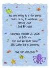 Ocean Friends Baby Shower Invites