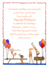 Gymnast Invitations