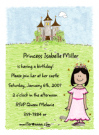 Latina Princess Invitations