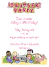 Pajama Party Invitations
