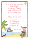 Pirate's Treasure Invitations