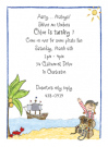 Pirate Girl's Treasure Invitations