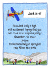 Airplane Invitations