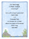 Sitting Frog Invitations