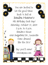 Fifties Sock Hop Invitations