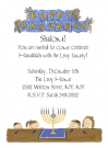 Hanukkah Kids Invitations
