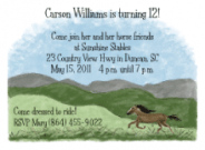 Horse Address Labels