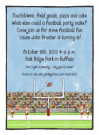 Football Field Invitations