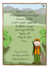 Hunting Boy Invitations