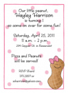 Peanut Girl Invitation