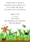 Bugs Baby Shower Invites