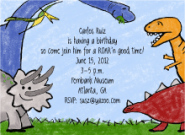 Dinosaur Party Invites