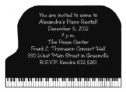 Musical Instruments Invitations