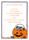Halloween Candy Invitation