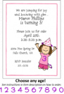 Birthday Hat Address Labels