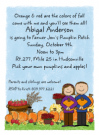Pumpkin Patch Invitations