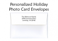 Christmas Tree Ornament Photo Card