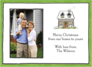 Richmond Winter House Photo Card Envelope