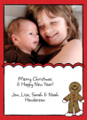 Gingerbread Man Address Labels