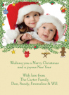 Christmas Ornaments Invitations