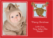 Reindeer Invitations
