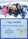 Hanukkah Menorah Photo Card