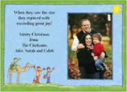 Nativity Photo Card