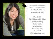 Graduation Cap Photo Invitations