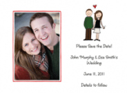 Engagement Couple Announcements