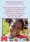Carnival For Girls Photo Invitations