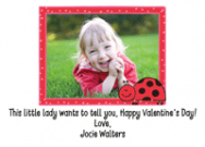 Ladybug Family Of 3 Personal Calling Cards
