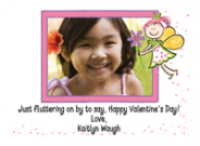 Fairy Kids Photo Valentine Cards