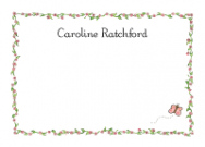 Caroline Border Invitations