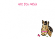 Horse Notecard Envelope