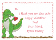 T-Rex Thank You Note