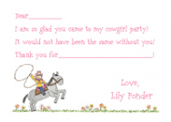 Cowgirl Boots Invitations