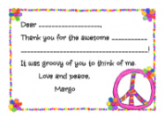 Peace Sign Labels