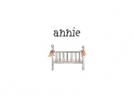 Pink Bassinet Calling Card Design