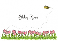 Amys Tulips Stationery