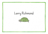 Turtle Calling Card Design