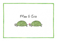 Boy And Girl Turtle Stationery