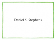 Green Line Border Stationery