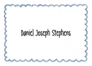 Blue Scallop Border Stationery
