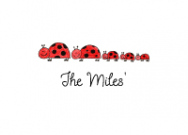 Ladybug Family Of 5 Stationery Envelope