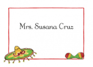 Mexican Sombrero Stationery