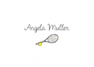 Tennis Racket Thank You Note
