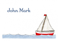 Sailboat Calling Cards