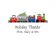 Christmas Train Photo Card