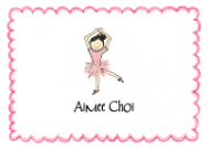 Asian Ballerina Invitations
